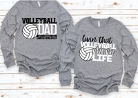 Volleyball Mom and Dad Shirts