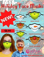 Kid's Holiday Mask