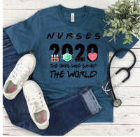 Nurses 2020 The Ones That Saved the World