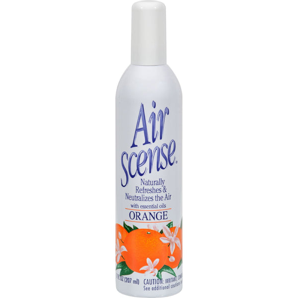 Air Scense Air Freshener - Orange - Case of 4 - 7 oz - Household - Nature's Batch