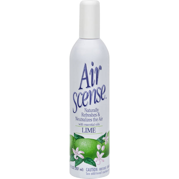Air Scense Air Freshener - Lime - Case of 4 - 7 oz - Household - Nature's Batch