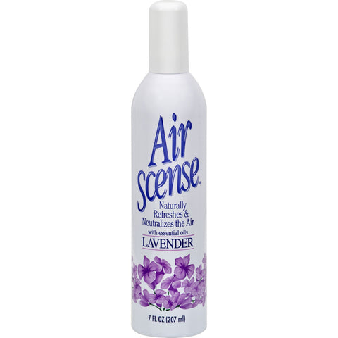 Air Scense Air Freshener - Lavender - Case of 4 - 7 oz - Household - Nature's Batch