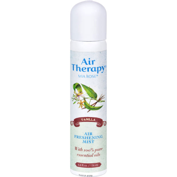 Air Therapy Natural Purifying Mist Vibrant Vanilla - 4.6 fl oz - Botanicals and Herbs - Nature's Batch