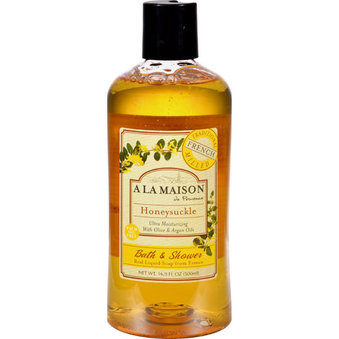 A La Maison Shower Gel - Honeysuckle - 16.9 oz - Bath and Body - Nature's Batch