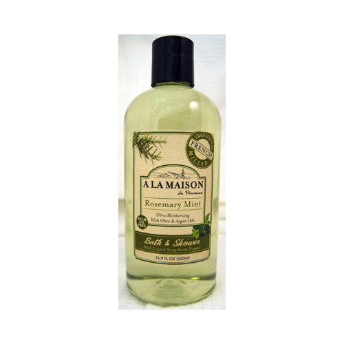 A La Maison Shower Gel - Rosemary Mint - 16.9 oz - Bath and Body - Nature's Batch