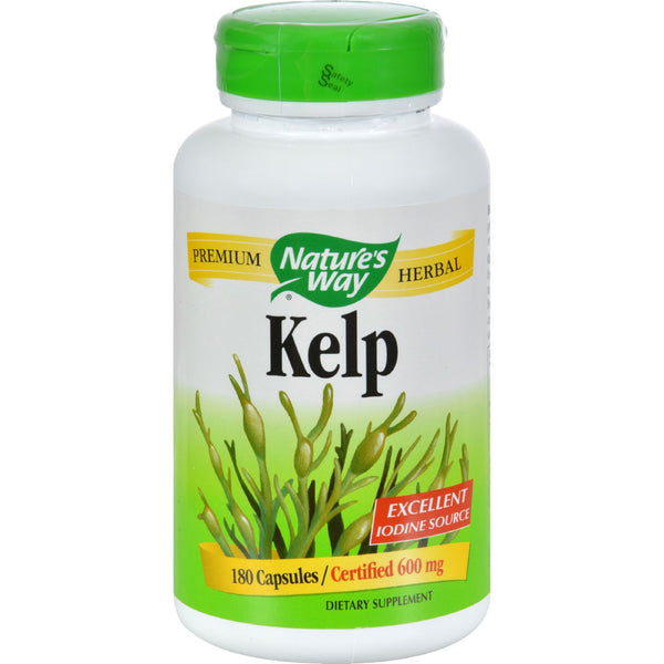 Nature's Way Kelp - 180 Capsules, Nature's Way, Health Supplements, Natural Supplements, Vitamins, Minerals, Herbs, Botanicals