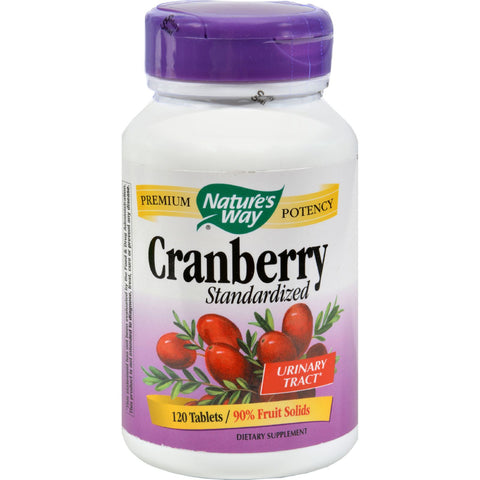 Nature's Way Cranberry Standardized - 120 Tablets - Botanicals and Herbs, Nature's Way