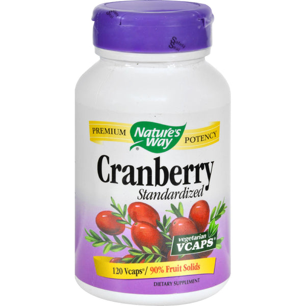 Nature's Way Cranberry Standardized - 120 Vcaps - Botanicals and Herbs, Nature's Way