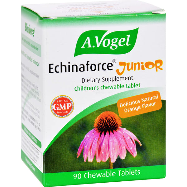 A Vogel Echinaforce Junior - Chewable - 90 Tablets - Baby and Children - Nature's Batch