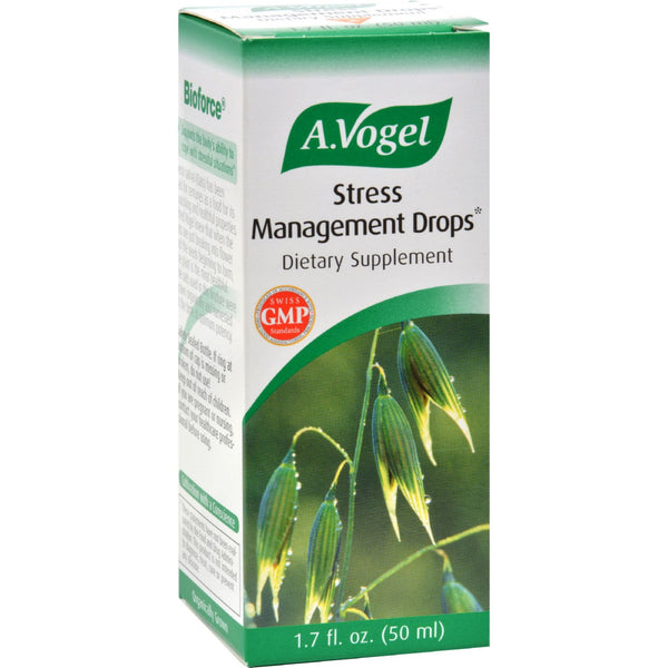 A Vogel Stress Management Drops - 1.7 fl oz - Health Supplements - Nature's Batch