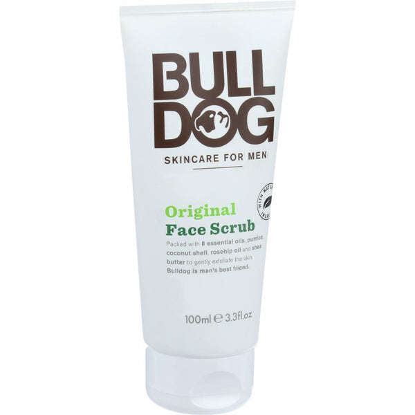 Bulldog Natural Skincare Face Scrub - Original - 3.3 oz