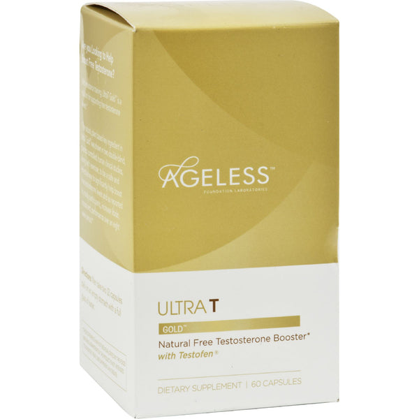 Ageless Foundation Ultra T Gold - 60 Capsules - Health Supplements - Nature's Batch