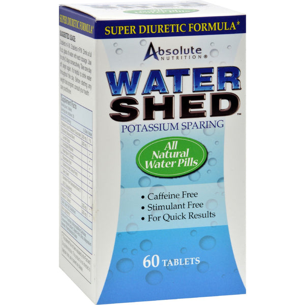 Absolute Nutrition WaterShed - 60 Tablets - Sports and Fitness - Nature's Batch