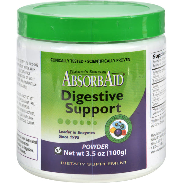 AbsorbAid Powder - 100 g - Health Supplements - Nature's Batch