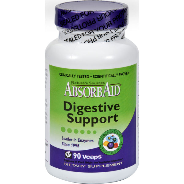 AbsorbAid Digestive Support - 90 Vcaps - Health Supplements - Nature's Batch