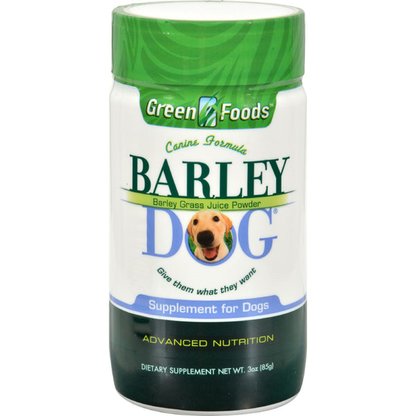Green Foods All-Breed Formula Barley Dog Grass Juice - 3 oz - Green Foods, Pet Care and Supplies