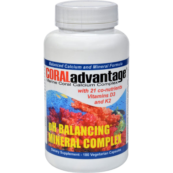 Advanced Nutritional Innovations Coral Advantage - 180 Vegetarian Capsules - Vitamins and Minerals - Nature's Batch
