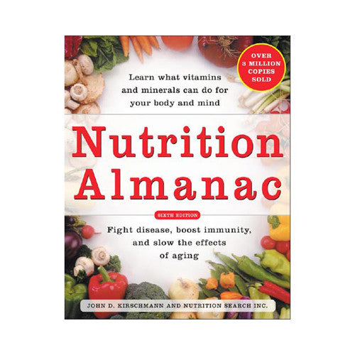 Nutrition Almanac #6 - Books - All Publisher Titles, Household