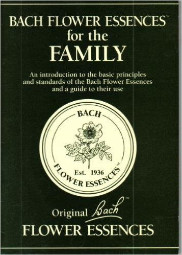 Bach Flower Essences for the Family - Book