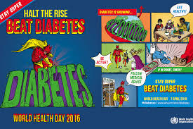 World Health Day - Beat Diabetes - Hydrus Has NO Sugar