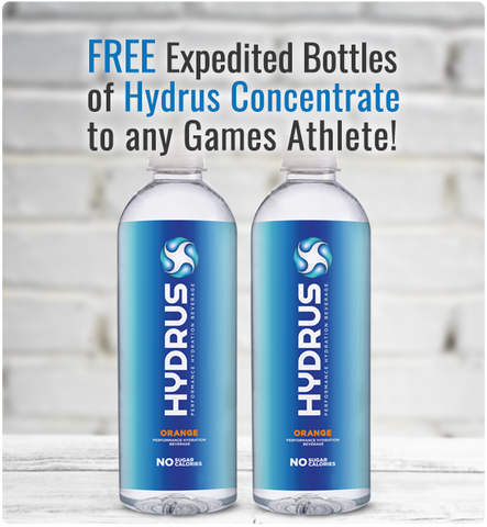 Free Hydrus Bottles For Games Athletes
