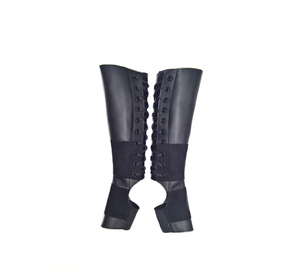 CHILDRENS Classic Black Aerial Boots w/ Suede Grip