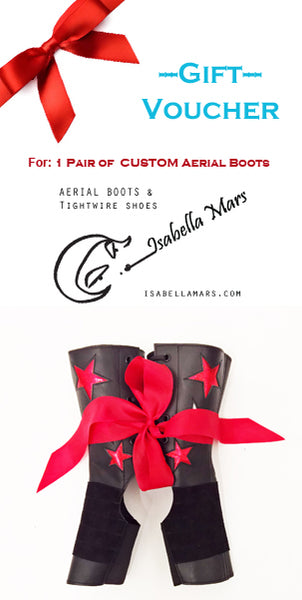 GIFT VOUCHER for Custom Aerial Boots