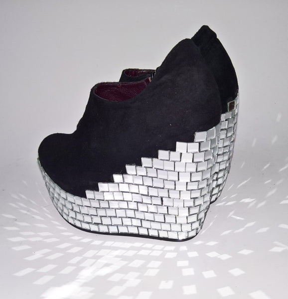 Disco MIRROR BALL Platform Shoes