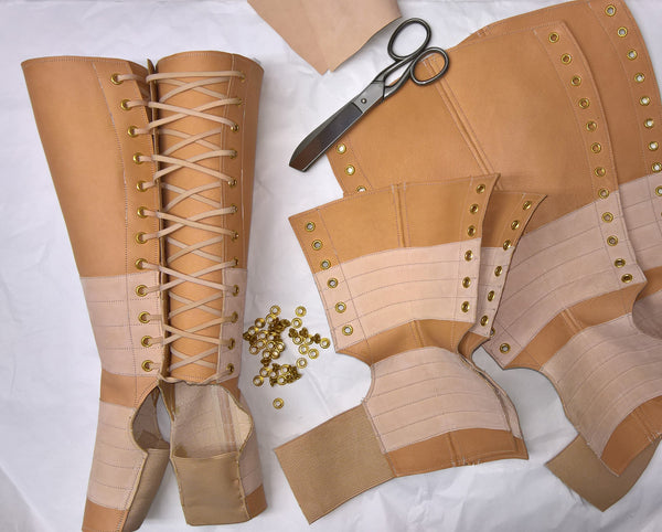 NUDE leather Aerial boots