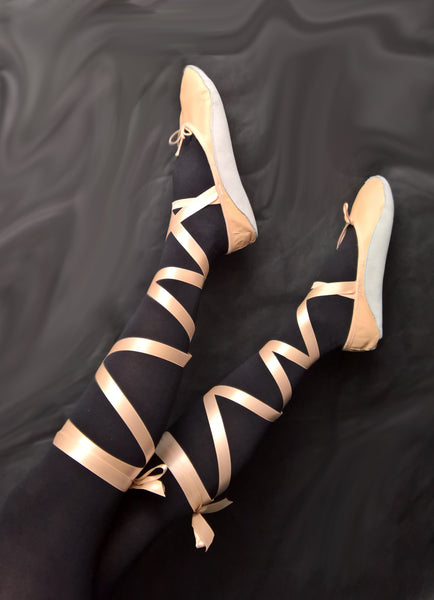 Nude/Pink Tightrope Shoes Ballet Style