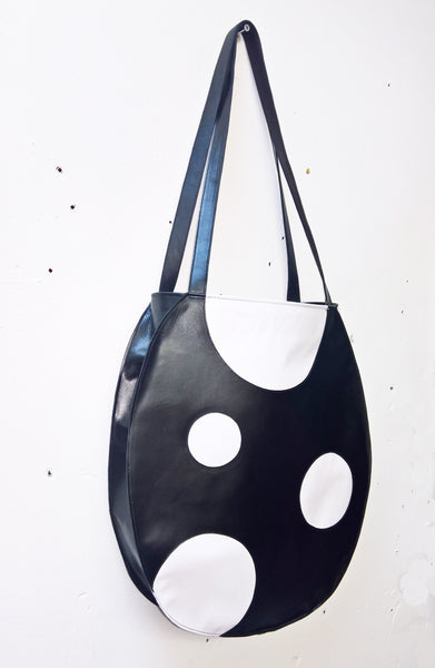 Cartoon Polkadot Tote Bag