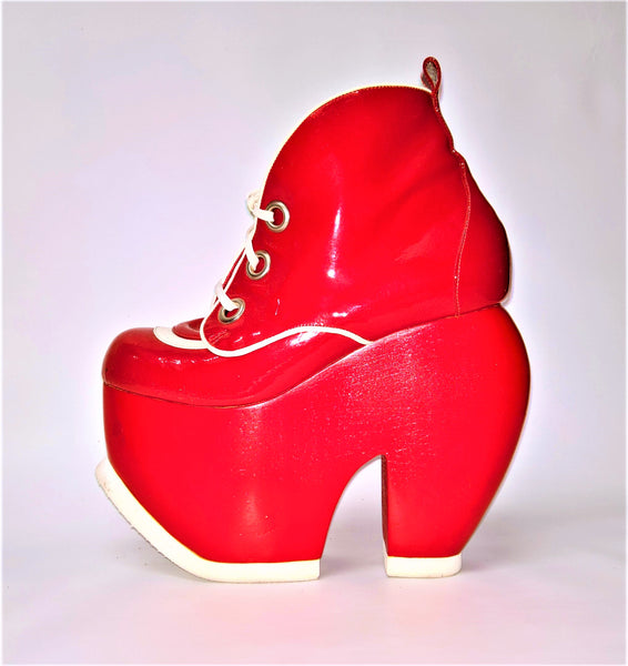 Cartoon Bumper Platform Shoes