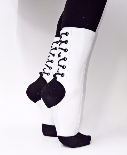 SHORT White Aerial boots
