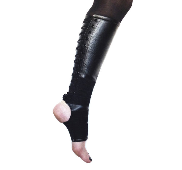 Classic Black VEGAN Aerial Boots w/ grip panels