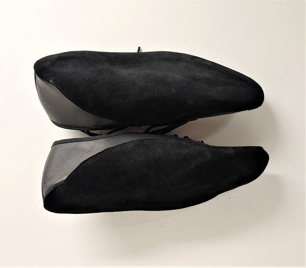 SAMPLE SALE - Black Tightrope Shoes UK 5 /US 7.5