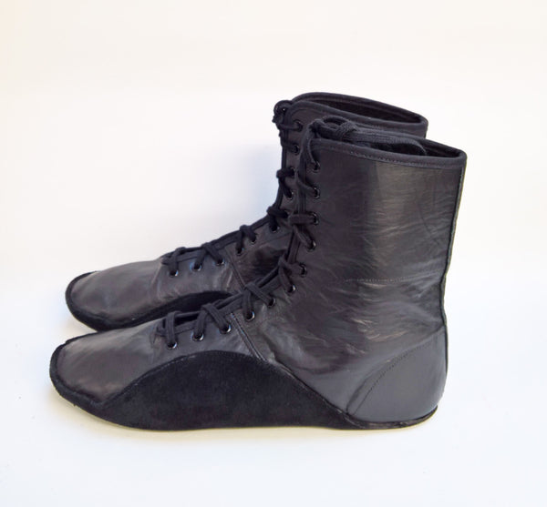 Black Tightrope Boots UK 6.5