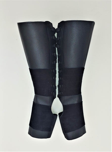 SAMPLE SALE - Classic Black Aerial Boots w/Grip 1 Petite NEW