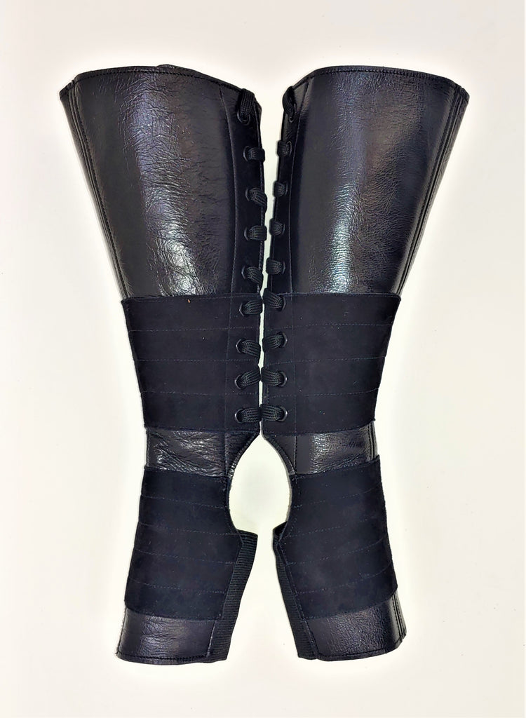 SAMPLE SALE - Classic Black Aerial Boots w/Grip 1 Petite