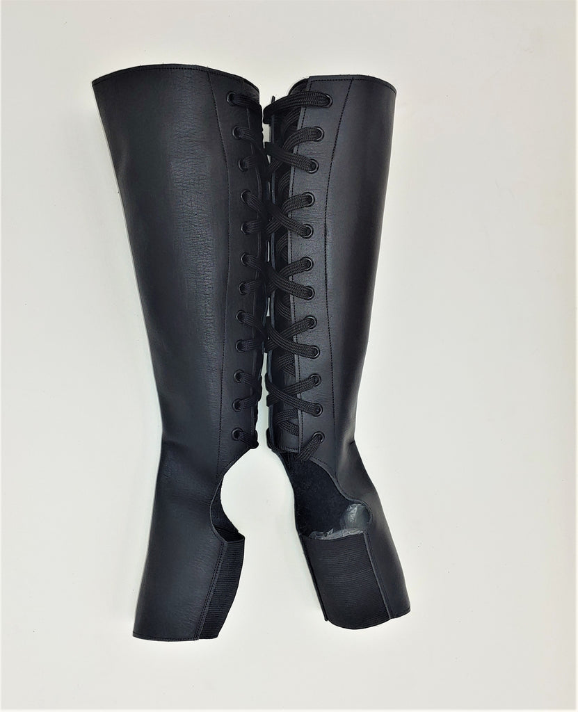 SAMPLE SALE - Classic Black Aerial Boots Size 3