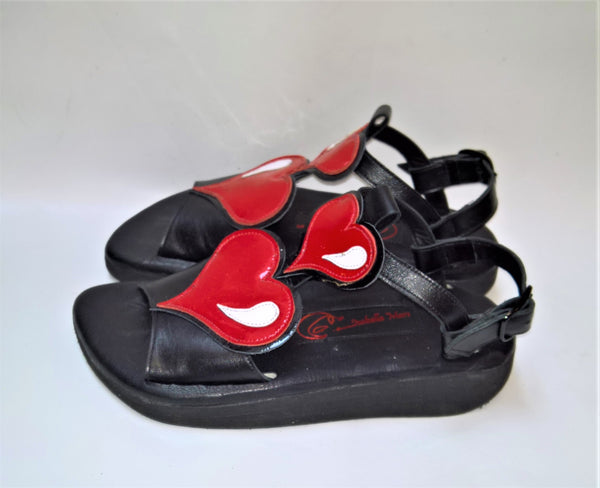 Cartoon HEART Sandals