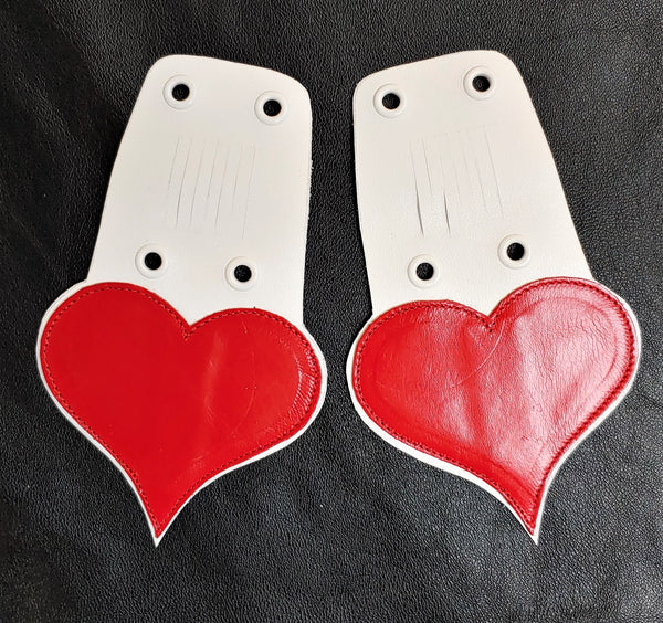 HEART Shoe Tongues - Large