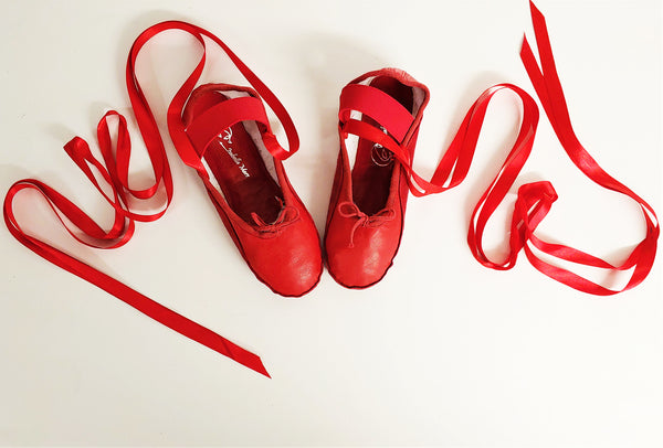 SAMPLE SALE - Red Tightrope Shoes UK 3 /US 5.5