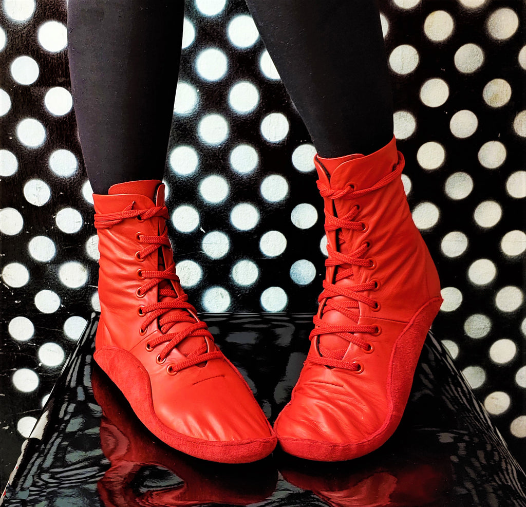 SAMPLE SALE - Red Tightrope Boots UK 4.5 /US 7