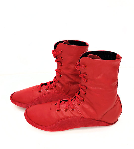 RED Tightrope Shoes Jazz Boot Style