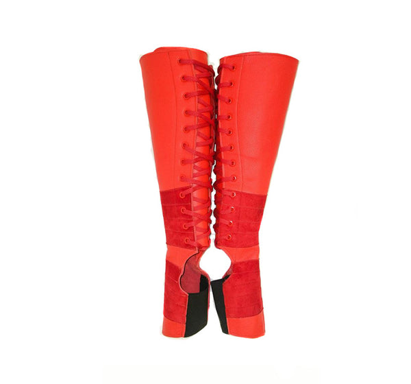 RED Aerial boots