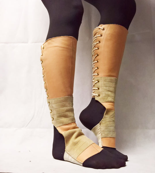 Nude Aerial Boots - used & marked