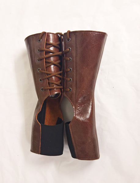 Short BROWN Aerial boots