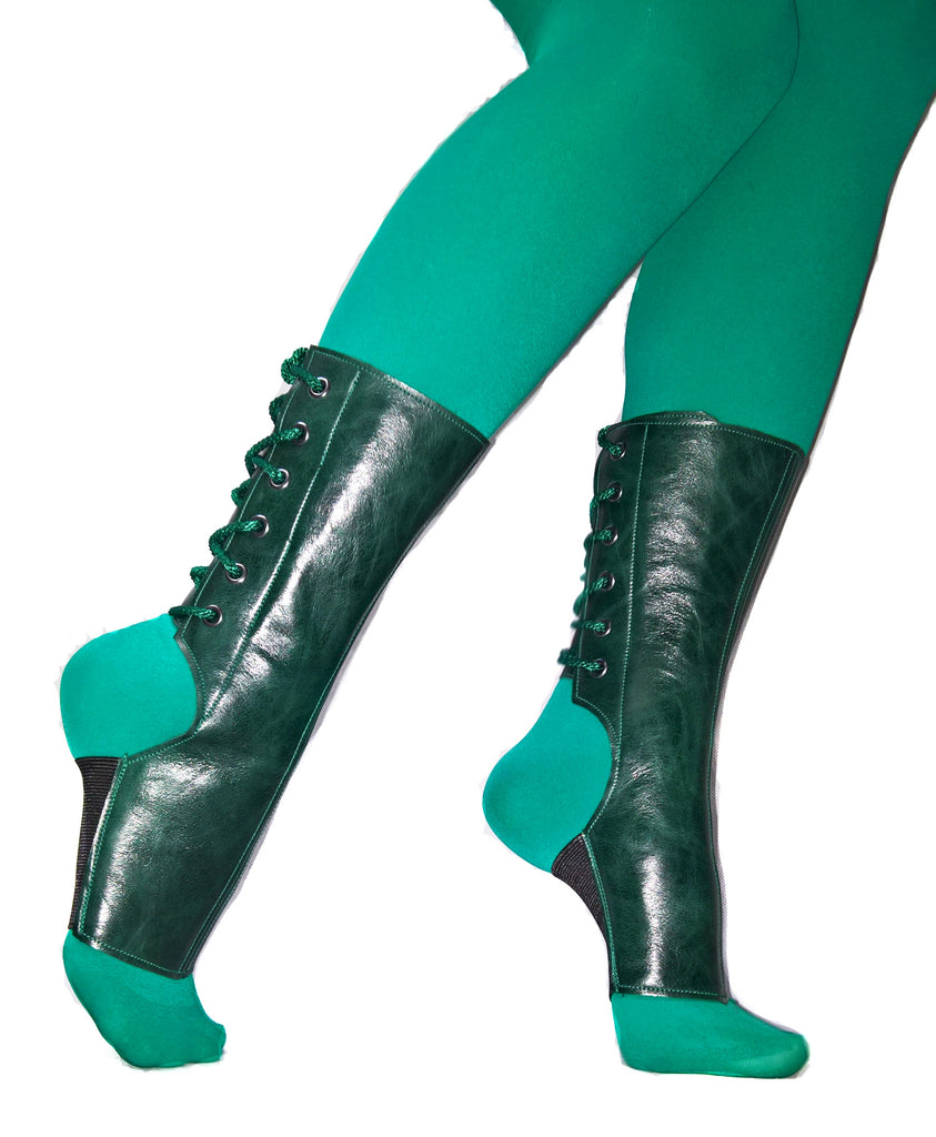 LIMITED EDITION Short Forest Green Aerial boots