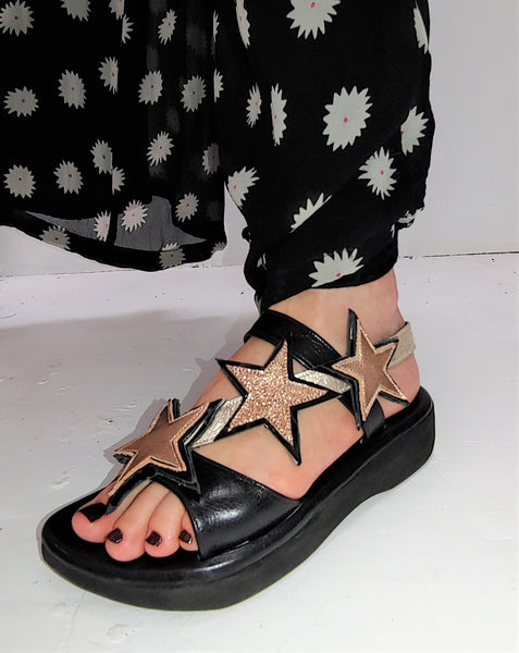 Rose Gold STARDUST Sandals
