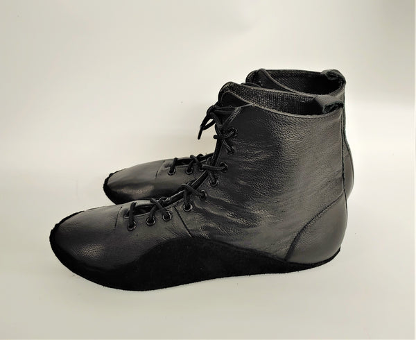 SAMPLE SALE - Black Tightrope Boots UK 12 /US 13 /EU 45